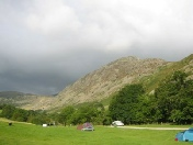 Gillside Campsite, located at the foot of Helvellyn
